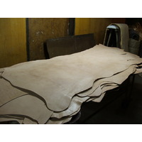 4mm Dry Saddle Leather -Side