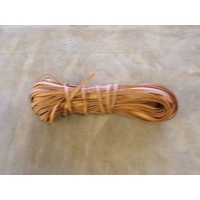 Kangaroo Lace / Thonging 4.5mm x 25 Metres  - Natural Waxed