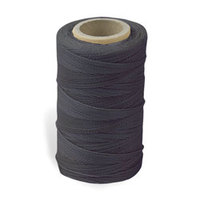 Waxed Nylon Sewing Thread - Black (247 metres)