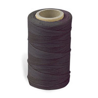 Waxed Nylon Sewing Thread - Brown (247 metres)