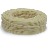 Waxed Linen Thread - Natural 25 yds